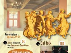 Soirée Folk (atelier&bal)