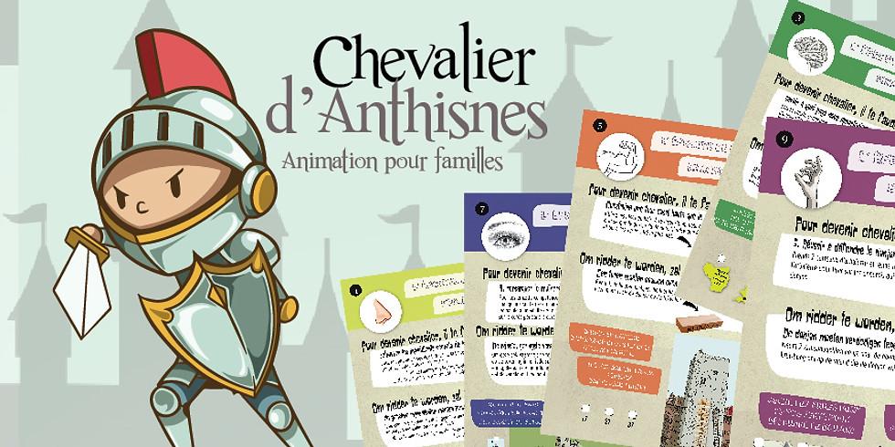 """Animation """"Petit chevalier"""" pour enfants de 5 à 15 ans"""