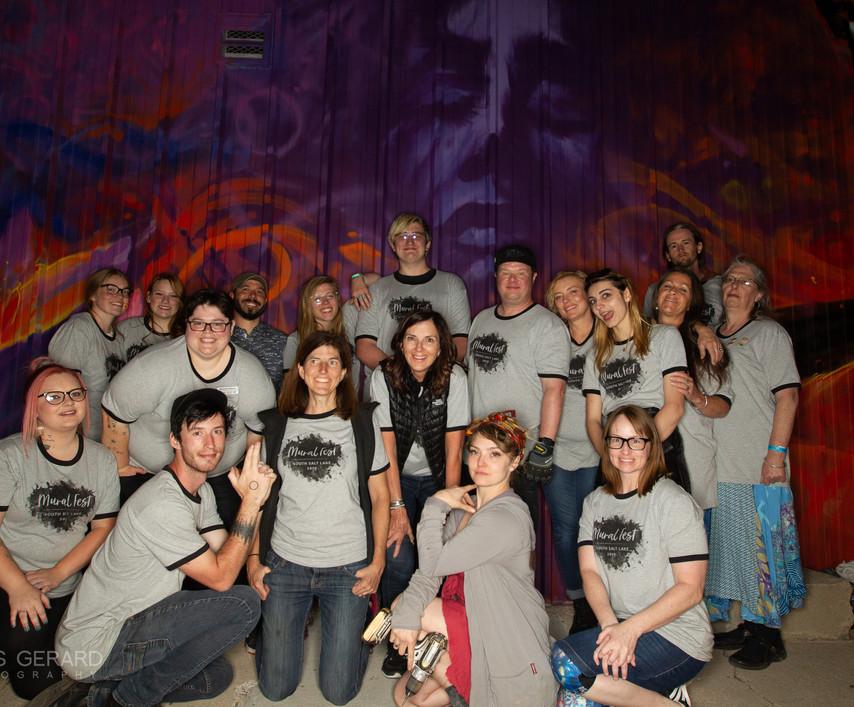 Mural Fest Volunteers