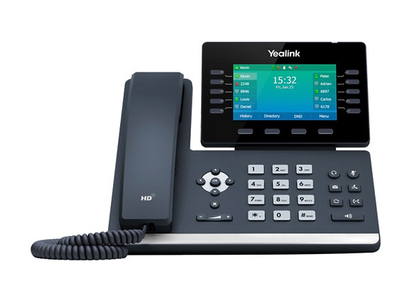 Yealink T54W (Expandable Deskphone) Specifications
