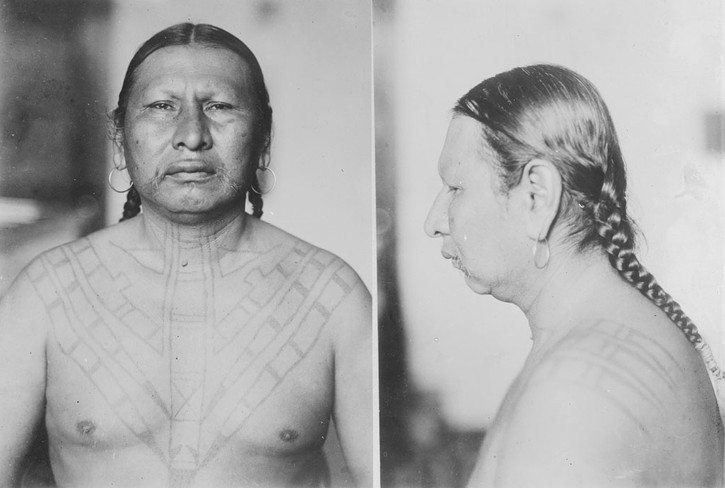 Osage Tattooing