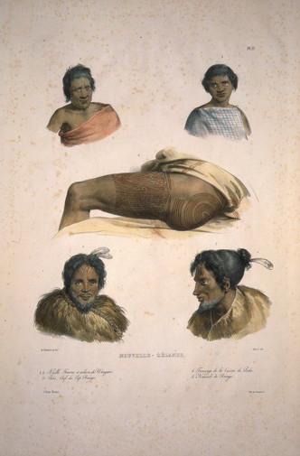 Maori Leg Tattoos