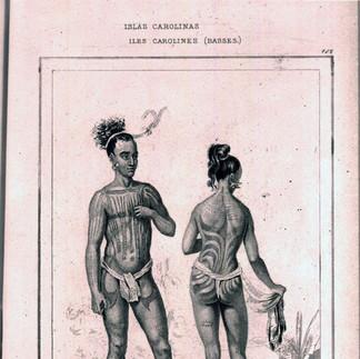 Caroline Men and Women's Tattoos