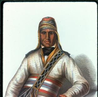 Tattooed Yoholo-Micco, a Creek Chief,
