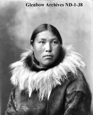 Inuit Chin Tattoos