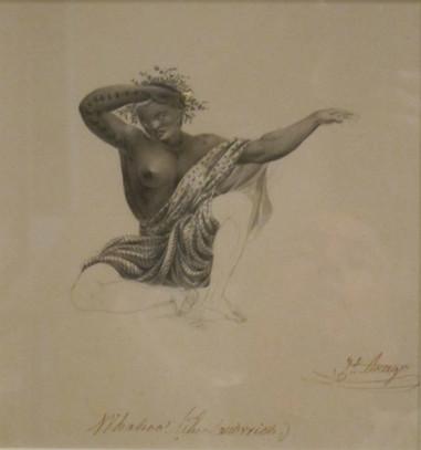 Woman of Sandwich Island Dancing