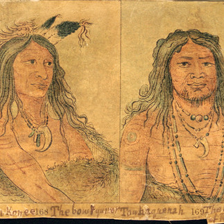 Comanchee Native American Tattoo