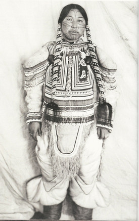 Inuit Woman with Face Tattoo