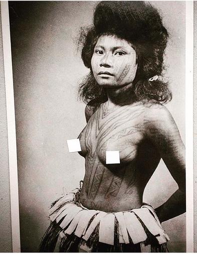 Papua New Guinea Tattooing