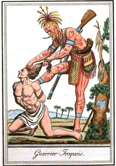 Iroquois Body Tattoo