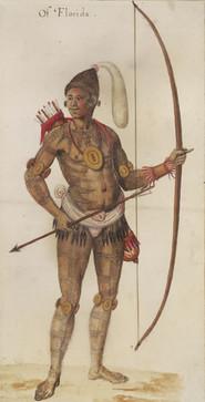 Timucuan Man's Tattoos