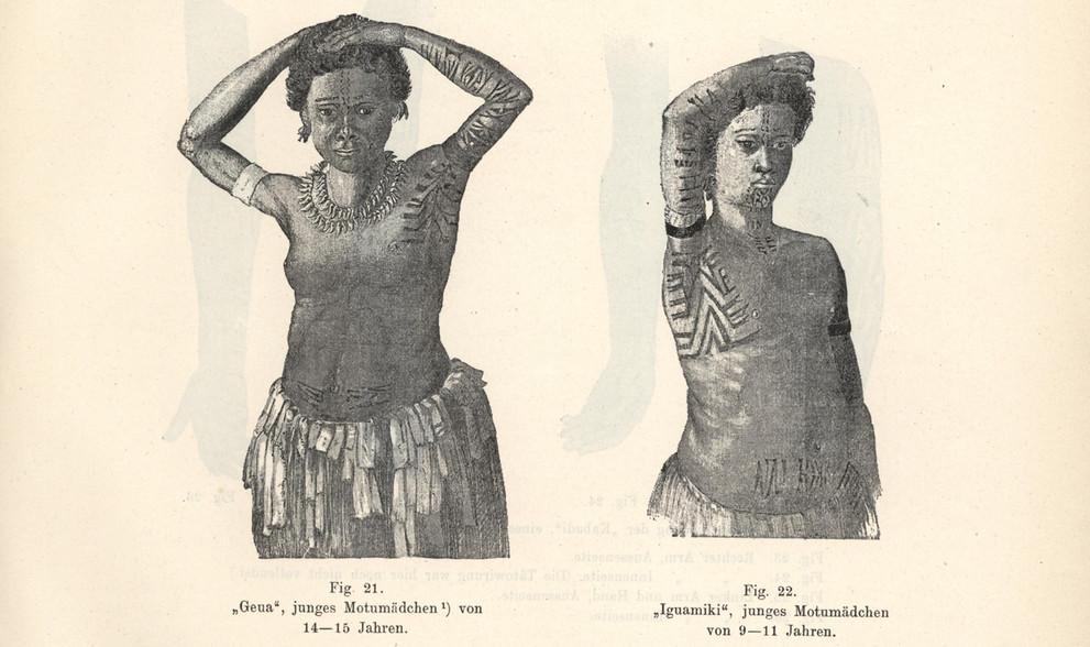 Papua New Guinea Tribal Tattoos