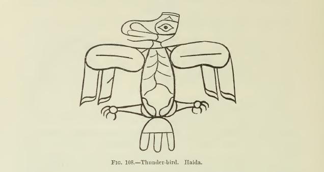 Thunderbird Crest Tattoos