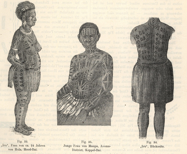 Papua New Guinea Tattoos