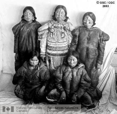 Inuit Women with Tattoos