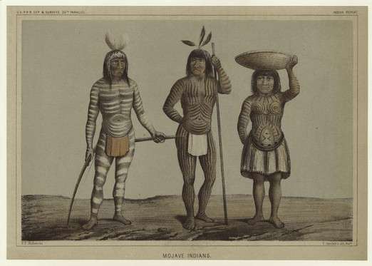 Mohave Indian Tattoos