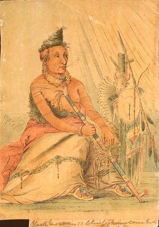 Minataree Indian Tattoos