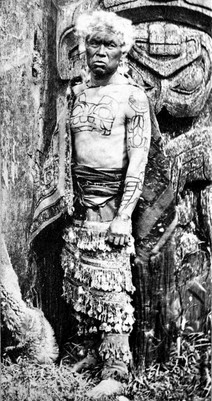 Chief Xa'na Grizzly Bear Crest Tattoo
