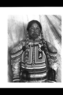 Inuit Woman with Tattoos