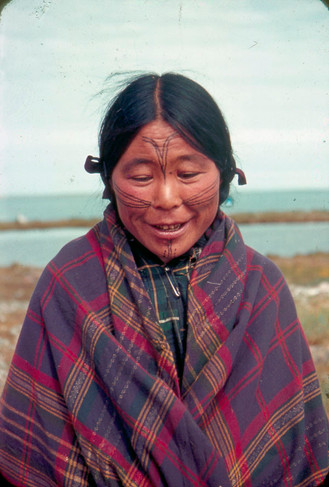 Inuit Face Tattoo