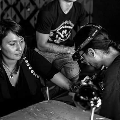 Nahaan Tattooing at Indigenous Ink