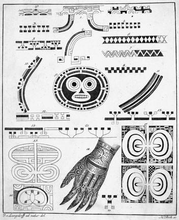 Marquesan Tattoo Designs