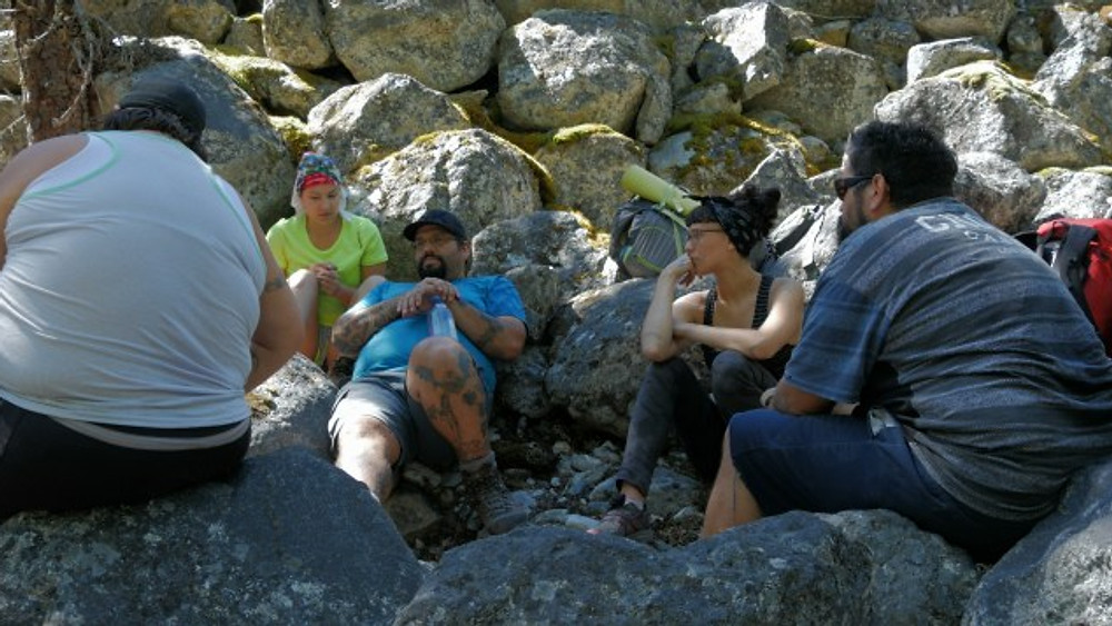 Sharing knowledge in the Nlaka'pamux Heritage Park
