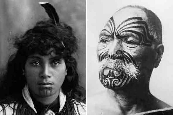 Classic Maori Tattoos