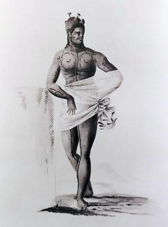 Tattooed Hawaiian