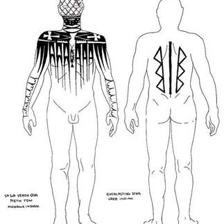 Mohawk and Cree Tattoo