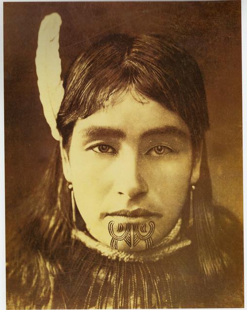 Maori Woman's Moko Kauae