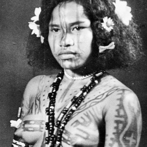Tattooig Papua New Guinea
