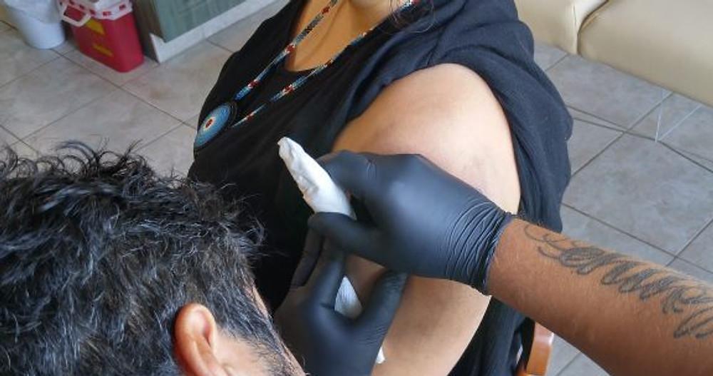 Dean Hunt Hand Poke Tattoo