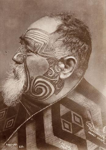 Maori Face Moko