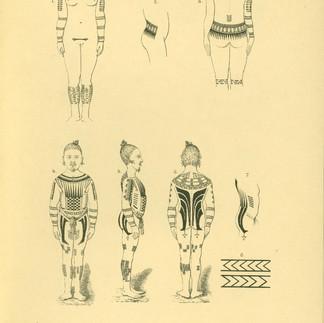 Caroline Islands Men's and Women's Body Suit Tattoos