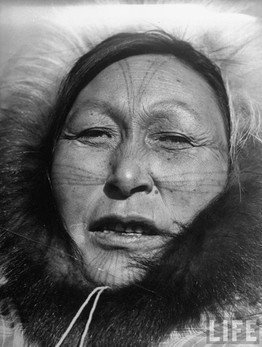 Inuit Facial Tattooing