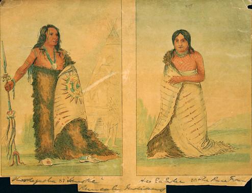 Ponca Indian Tattoos