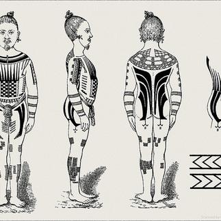 Caroline Islands Men's Body Suit
