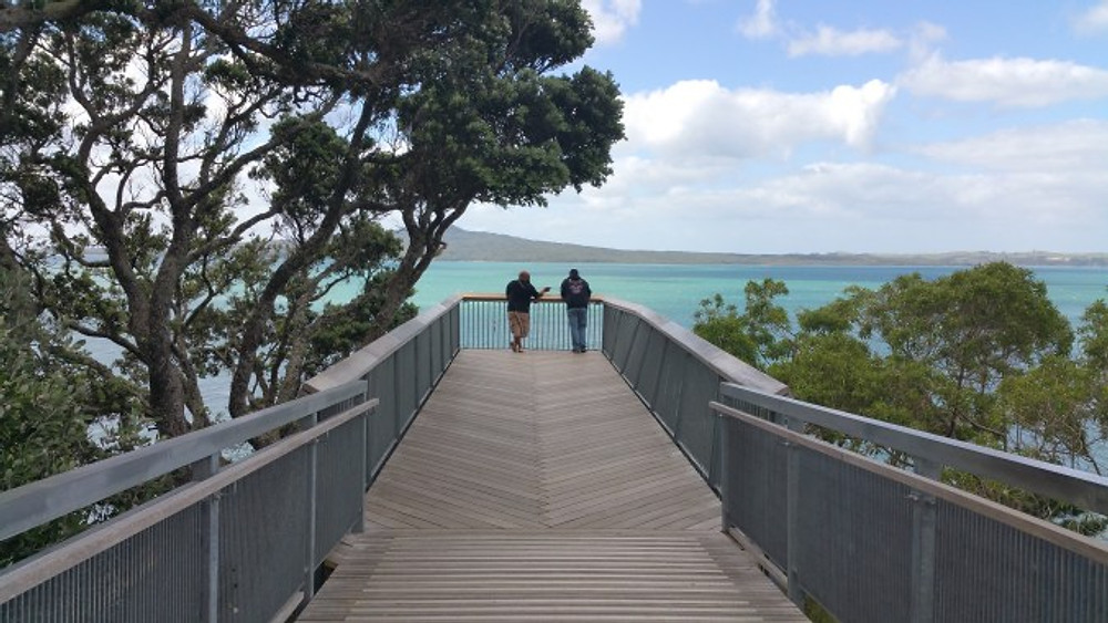 grant-and-dion-kaszas-at-heliers-bay