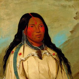 Cree Woman's Tattoo