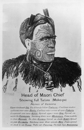 Maori Cheif's Moko