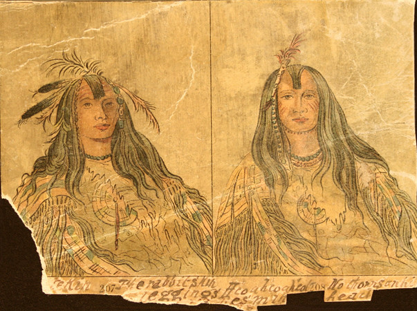 Nez Perce Tattoos or Face Paint