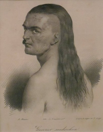 Tattooed Hawaiian Chief