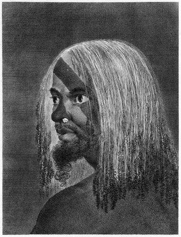 Man of Vanuatu with Face Tattoos