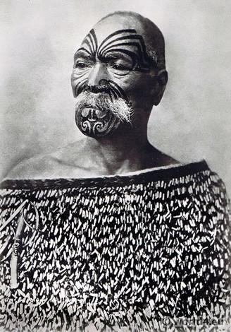 Face Tattoos of the Maori