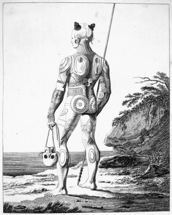Body Tattoos of the Marquesan Islands