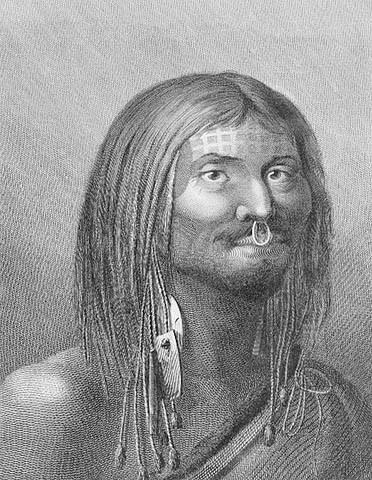 Nuu-chah-nulth Face Tattoo
