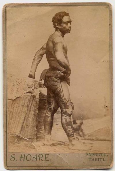 Marquesan Men's Tattooing