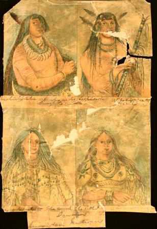Mandan Indian Tattoos