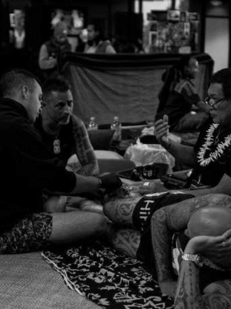 Keone Nunes Hawaiin Tattooing
